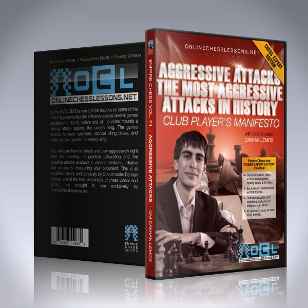 Aggressive Attacks: The Most Aggressive Attacks in History - GM Damian Lemos